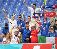اشتباه في وجود قنبلة قبل انطلاق مباراة إيطاليا وسويسرا