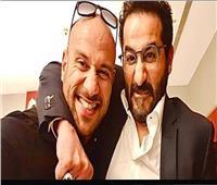 أحمد حلمي يمازح أحمد مكي: مهما أضربه بيعطف عليا