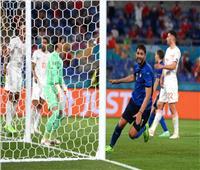 منتخب إيطاليا يضرب سويسرا بهدف التقدم في «يورو 2020»| فيديو