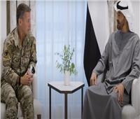 ولي عهد أبو ظبي يستقبل قائد القوات الأمريكية بأفغانستان