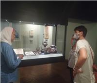 متحف اسكندرية القومي يقدم جولة إرشادية لمقتنياته.. صور