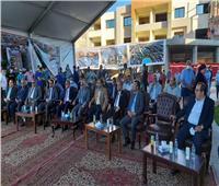 محافظ بورسعيد ووفد لجنة التنمية المحلية بالبرلمان يزور مشروع هلنان