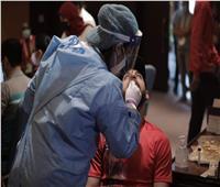 مسحة طبية للاعبي الأهلي استعدادًا لمباراة الترجي
