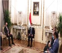 رئيس الوزراء يعرب عن سعادته بمسار التعاون الجاري بين مصر والعراق