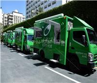 شاهد الصور الأولى لـ«سيارات البريد المتنقلة»