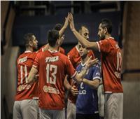 «رجال طائرة الأهلي» يواجه الاتحاد في نصف نهائي كأس مصر