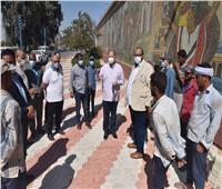 محافظ أسيوط يتفقد أعمال تطوير بعض الشوارع بحي غرب