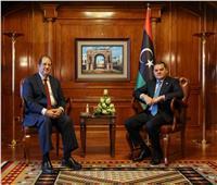 اللواء عباس كامل ينقل لليبيين تأكيدات الرئيس السيسي بوقوف مصر خلف الشعب الليبي وحكومته