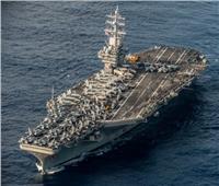 يرافقها طراد صواريخ ومدمرة.. حاملة طائرات أمريكية تدخل بحر الصين الجنوبي