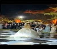 أول فيديو من حفل زفاف إبنة علا غانم| صور