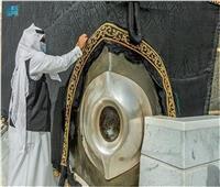 حياكة كسوة الكعبة المشرفة تجذب زوار معرض مشروعات مكة الرقمي في قبة جدة