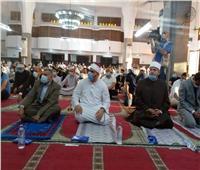 التزام بالإجراءات الاحترازية بمساجد الإسماعيلية