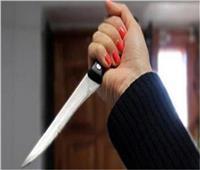 سيدة تقتل نجلها وتصيب زوجها بسكين في طنطا