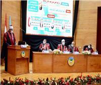 وزير الأوقاف يناقش رسالة ماجستير عن «أصول التربية» بجامعة طنطا