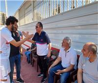 طارق يحيى ممازحا محمود علاء: «تذكرني بسرجيو راموس»