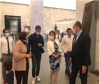 نَائبة وزيرة الثقافة الروسية تشيد بالحضارة المصرية العريقة خلال زيارتها لمتحف الحضارة
