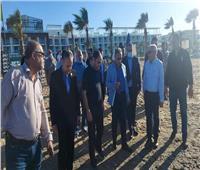محافظ بورسعيد ولجنة الإدارة المحلية بالنواب يتفقدون منتجع بورتوسعيد السياحي