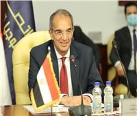 وزير الاتصالات: تشكيل لجنة مشتركة لترجمة محاور التعاون المصري العراقي