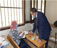 محافظ المنوفية يتفقد لجان إمتحانات الدبلومات الفنية
