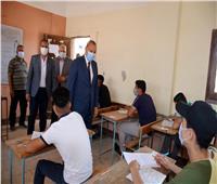 محافظ القليوبية يتفقد لجان امتحان الدبلومات الفنية