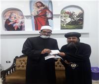 «نسيج وأحد».. أسقف السويس يشتري 5 صكوك أضحية من الأوقاف