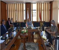 نائب رئيس جامعة السادات يترأس مجلس شئون خدمة المجتمع وتنمية البيئة