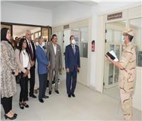 وفد من «دفاع النواب» يزور شركة النصر للكيماويات الوسيطة| صور