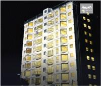 بناء برج سكني من 10 طوابق في 24 ساعة| فيديو