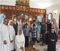 الأنبا توما يختتم الرياضة الروحية بدير سيدة البشارة بالإسكندرية