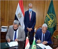 محافظ القليوبية يشهد توقيع بروتوكول ربط خطوط خدمة النقل العام بالعاصمة الإدارية