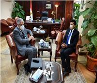 وزير الشباب والرياضة يلتقي رئيس نادي طنطا