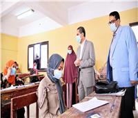 محافظ الغربية يتابع امتحانات المدارس الفنية بالمحلة الكبرى