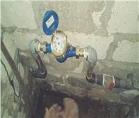 توصيل 48 عداد مياه لمحدودى الدخل بقرى حوش عيسي وأبو المطامير