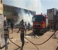 السيطرة على حريق في ورشة «ألوميتال» بقنا