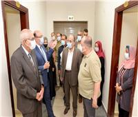 الانتهاء من تجديد وتطوير «مبني حسين حماد» بجامعة المنصورة