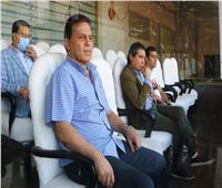 جهاز المنتخب يحضر افتتاح كأس البطولة العربية للشباب