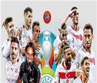 يورو 2020 | انطلاق مباراة «تركيا وسويسرا» في ختام الجولة الثالثة