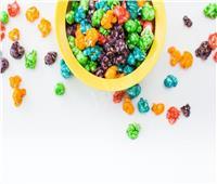 حلويات تسالي| الفشار الملون بالسكر