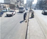 محافظ الدقهلية يتابع أعمال رفع كفاءة الشوارع والميادين وتراكمات القمامة بالمنصورة