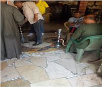 الجيزة تغلق 12 مقهى بشمال والوراق والبدرشين لتقديمهم الشيشة للمواطنين