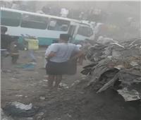 الصحة: وفاة 2 وإصابة 6 آخرين في حادث قطار حلوان