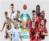 يورو 2020 | انطلاق مباراة «بلجيكا وفنلندا» في ختام الجولة الثالثة