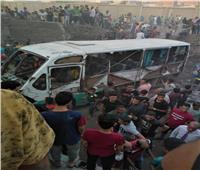 النائب العام يأمر بالتحقيق العاجل في واقعة اصطدام قطار بحافلتين