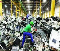 «الصحة العالمية» تحذر من نمو أحجام النفايات الإلكترونية بنسبة 21%