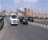 الحالة المرورية.. انتظام حركة السيارات في طرق القاهرة والجيزة