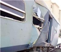 السكة الحديد: إصابة8 أشخاص في حادث قطار الإسكندرية