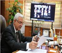 رئيس جامعة المنوفية يعقد اجتماعه الشهري «أونلاين»