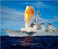 المدمرة الصاروخية «أرلي بيرك» تجري تدريبات بالذخيرة الحية  فيديو