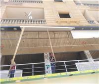 إيقاف 4 حالات تحويل من سكني لتجاري وحالة بناء مخالف بـ«حدائق الأهرام»