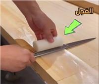بمهارة فائقة.. طباخ صيني يصنع رقائق من الفجل  فيديو